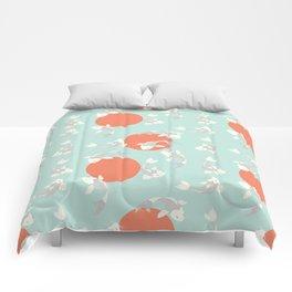 Koi fish pattern 005 Comforters