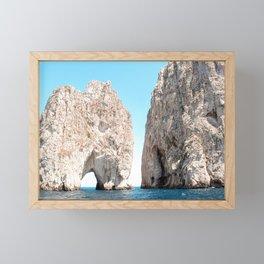 Faraglioni Rocks Capri Italy Framed Mini Art Print