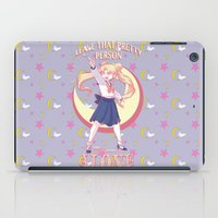 sailormoon iPad Cases featuring Sailor Says by hollarity