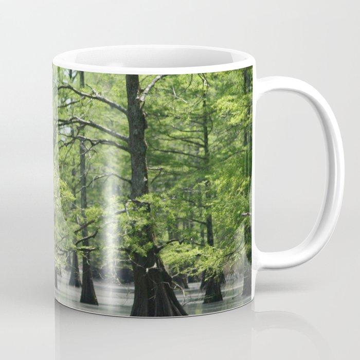 Cypress Trees in the Louisiana Swamp Coffee Mug