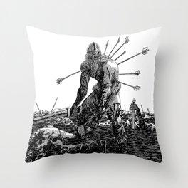The Berserker Throw Pillow