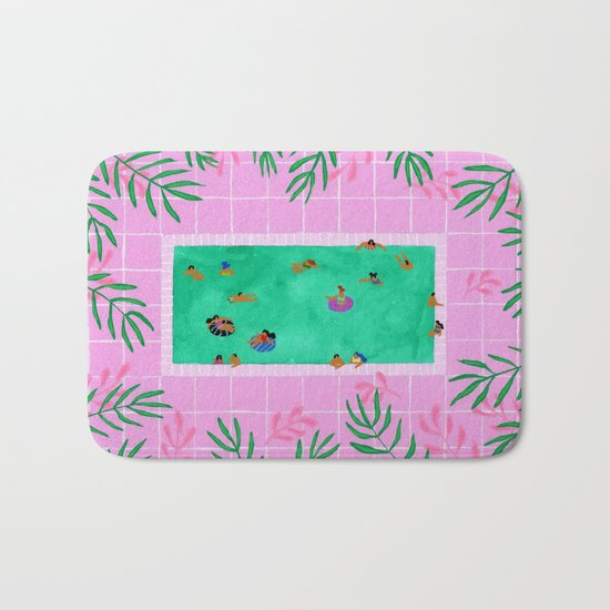 Emerald Pool Bath Mat