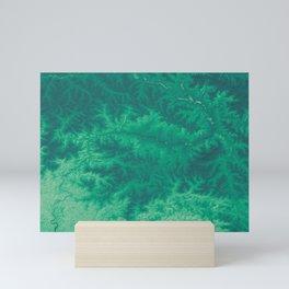 Turquoise Cascades - Pakistan Mountains Mini Art Print