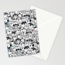 Aqua Dogs Stationery Cards
