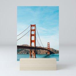 Golden Gate Mini Art Print