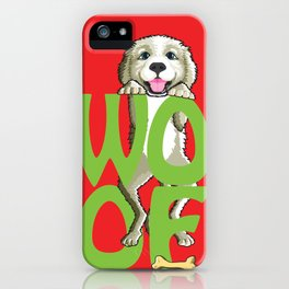 Gus The Dog iPhone Case