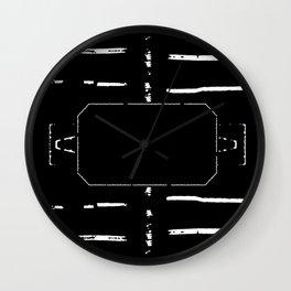 Welcome mat deployed II Wall Clock