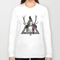 death Long Sleeve T-shirts featuring Death by Repulp