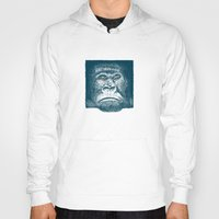 gorilla Hoodies featuring Gorilla by Lara Trimming