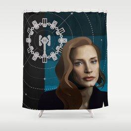 """Interstellar - Plan """" A """" Shower Curtain"""
