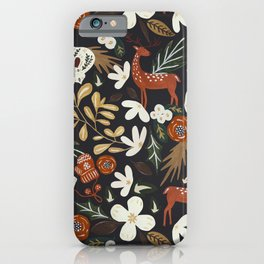 Christmas holiday night III iPhone Case
