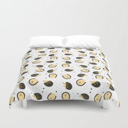 hedgegog fields Duvet Cover