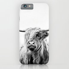 portrait of a highland cow - vertical orientation Slim Case iPhone 6s