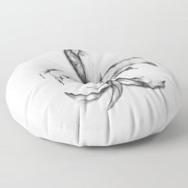 Iris Pseudacorus Floor Pillow