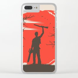 Ash Williams Clear iPhone Case