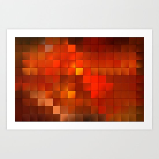 light squares Art Print
