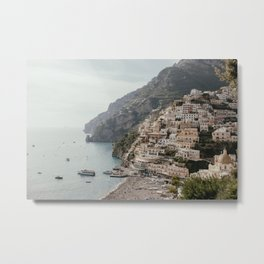 Positano Amalfi Coast Italy Metal Print