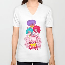 fanart Jem and the Holograms Unisex V-Neck