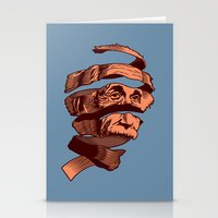 escher Stationery Cards featuring E=M.C. Escher by Tom Burns