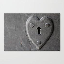 Lock of Love Canvas Print