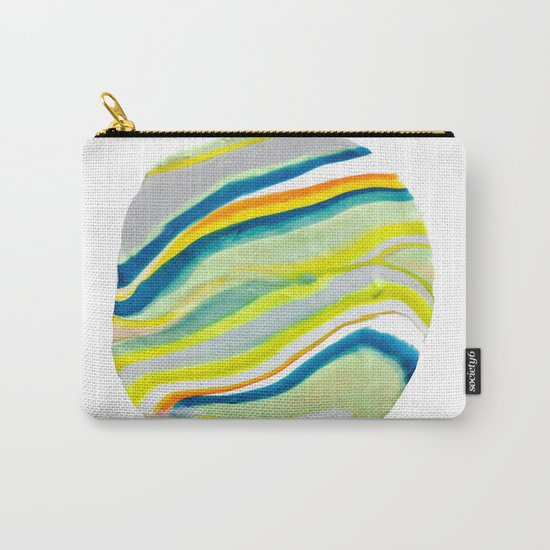 Earth Lines Marbling, Unite Carry-All Pouch