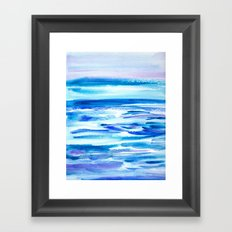 Pacific Dreams Framed Art Print