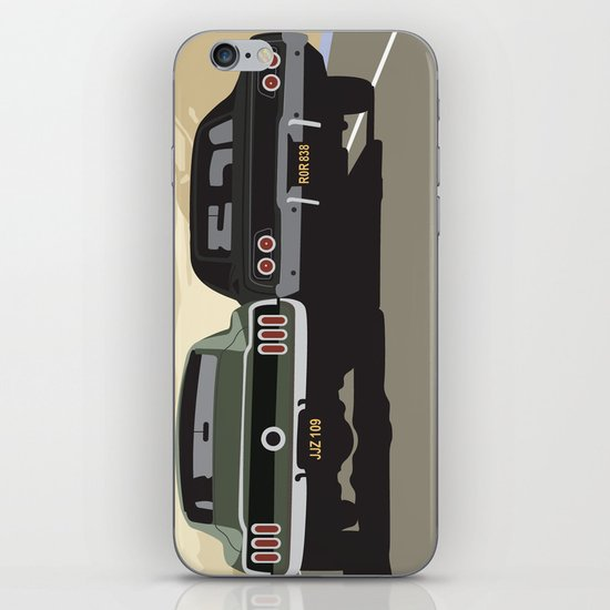Bullitt chase iPhone & iPod Skin
