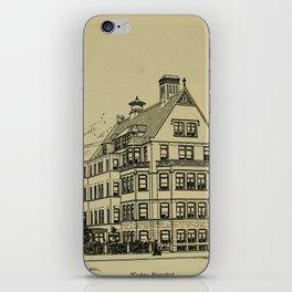 Wesley Hospital 1888 iPhone Skin