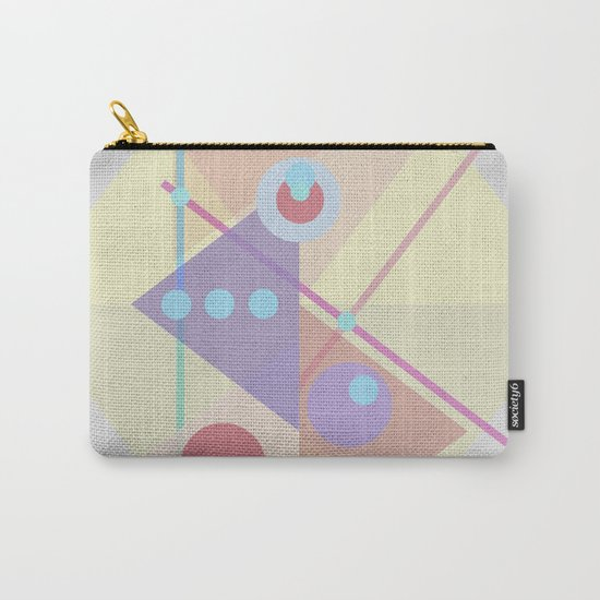 Geometric pastel 01 Carry-All Pouch
