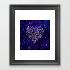 Ever After Heart Framed Art Print