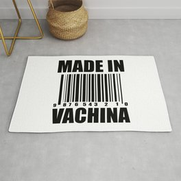 Made in vachina funny quote Rug