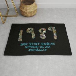 1989 Secret Sessions Anniversary Rug