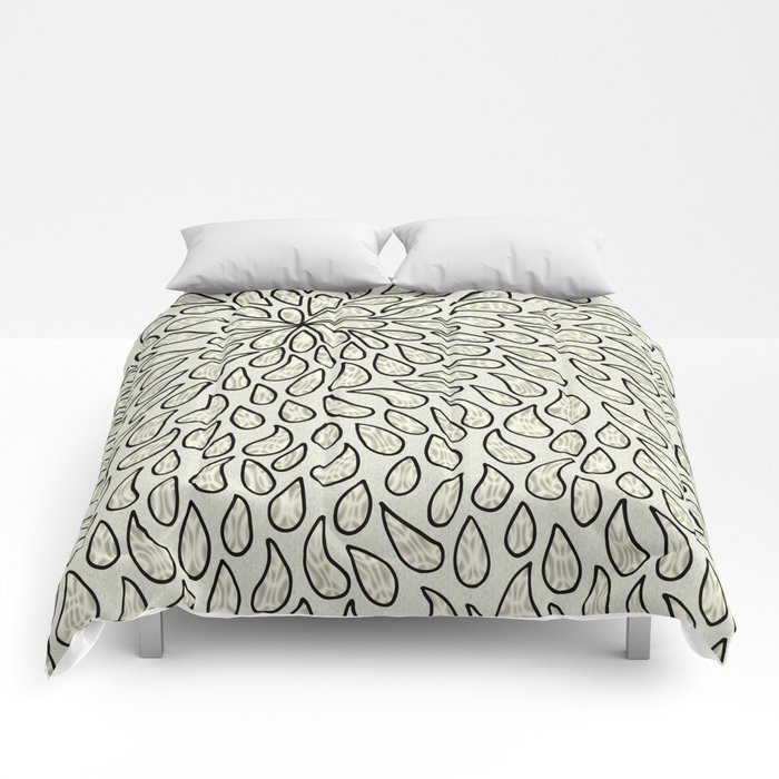 Pearlised Drops - Ivory Comforters
