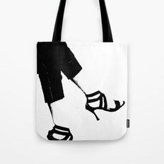 White Wall Tote Bag