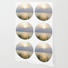 Circular Sunset Wallpaper