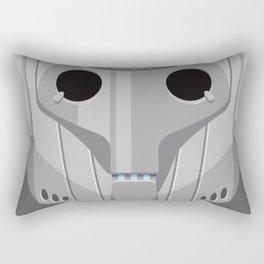 Cyberman - Doctor Who Rectangular Pillow