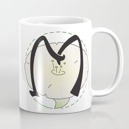 Rubys Flower Initials - M Coffee Mug