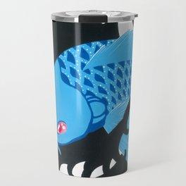 Astro Koi Blue Travel Mug