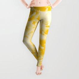 Yellow Peonies Dream #1 #floral #decor #art #society6 Leggings