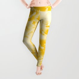 Yellow Peonies Dream #1 #floral #decor #art #society6 Leggings
