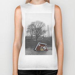 floating house Biker Tank