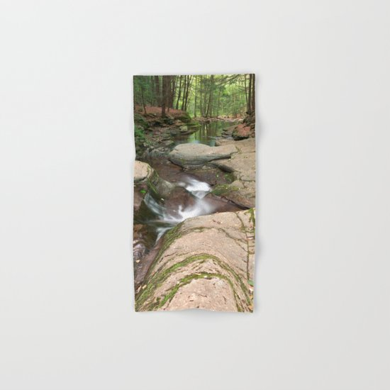 Worlds End Forest Stream Hand & Bath Towel