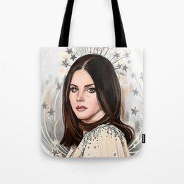 Lana Del Rey/Hedy Lamarr Tote Bag