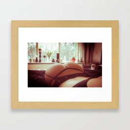 The Housewife Framed Art Print