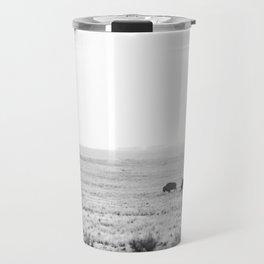 Roaming Bison Travel Mug
