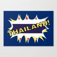 thailand Canvas Prints featuring Thailand by mailboxdisco