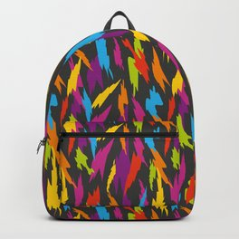 Abstract Party Poppers Pattern Backpack