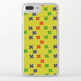 Wind is Yelow Clear iPhone Case
