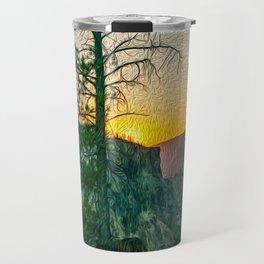 Artists Point Sunrise Print Travel Mug