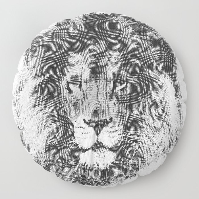 lion Floor Pillow